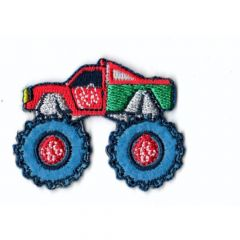 Iron-on patches monstertruck - 5pcs