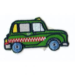 HKM Iron-on patch London Taxi 56x34mm - 5pcs