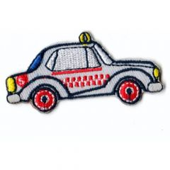 HKM Iron-on patch taxi 55x30mm - 5st