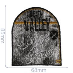 HKM Iron-on patch death valley - 5pcs