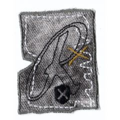 HKM Iron-on patch R - 5pcs