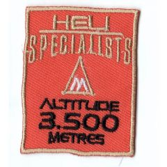 HKM Iron-on patch heli specialists - 5pcs