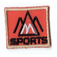 HKM Iron-on patch sports square - 5pcs