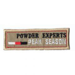 HKM Iron-on patch powder experts - 5pcs