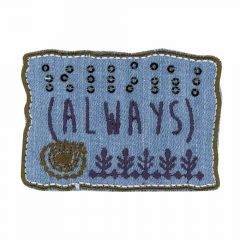 Iron-on patches Rectangle ALWAYS jeans - 5pcs
