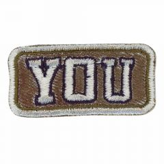 Iron-on patches YOU - 5pcs