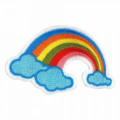 Iron-on patches Rainbow - 5pcs