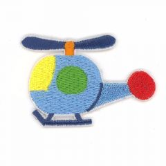 Iron-on patches Helicopter - 5 pcs
