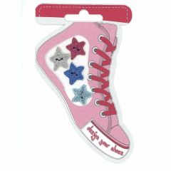 HKM Iron-on shoe patch pink - 5pcs