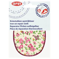 Opry Iron-on knee patches flower - 5pcs