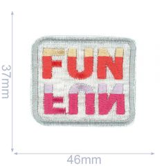HKM Iron-on patch fun - 5pcs