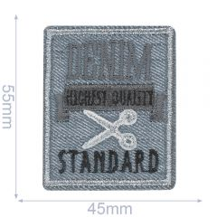 HKM Iron-on patch denim - 5pcs