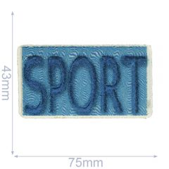 HKM Iron-on patch sport - 5pcs