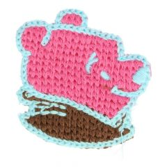 Patches Knitted bear - 5pcs