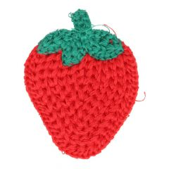 Patches Knitted strawberry - 5pcs