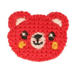Patches Knitted little bear - 5pcs