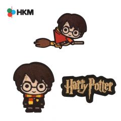 HKM Iron-on patch Harry Potter - 3pcs