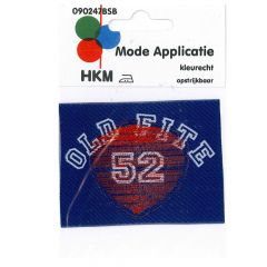 HKM Iron-on patch old fite 52 - 5pcs