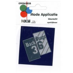 HKM Iron-on patch back stage 36 - 5pcs