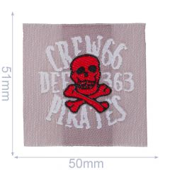 HKM Iron-on patch crew 66 - 5pcs