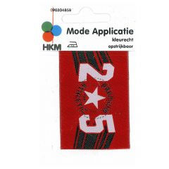 HKM Iron-on patch 25 premium athelic - 5pcs