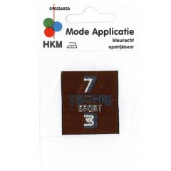 HKM Iron-on patch 7 techni sport 3 - 5pcs