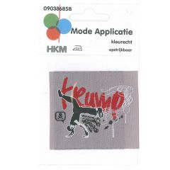 HKM Iron-on patch krump - 5pcs