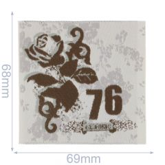 HKM Iron-on patch 76 - 5pcs