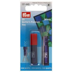 Prym Quilting sewing needles fine silver - 5x20pcs