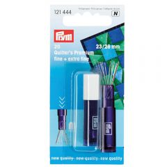 Prym Quilting needles assorted 23-26mm silver - 5x20pcs