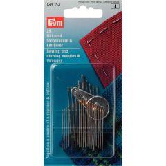 Prym Hand Sewing/Darning Needles w. threader - 5pcs.   L
