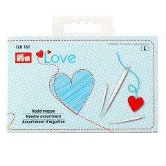 Prym Love needle assortment and threader - 5pcs