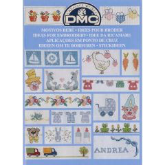 DMC Book ideas for embroidery - 1pc