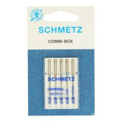 Schmetz Combi-box universal-stretch 5 needles - 10pcs