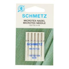 Schmetz Microtex 5 needles - 10pcs