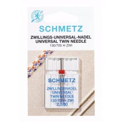 Schmetz Twin 1 needle - 10pcs