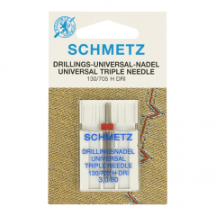Schmetz Triple 1 needle 3.0-80 - 10pcs