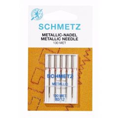 Schmetz Metallic 5 needles 80-12 - 10pcs