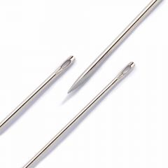 Prym Leather needles assorted no.3-7 silver - 5x6pcs