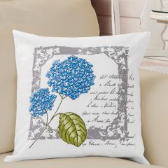 Simy's Embroidery kit pre-printed pillow case 40x40cm - 1pc