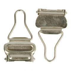 Suspender clips 30mm - 10pcs