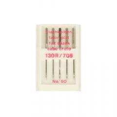 Sewing machine needles flat shank no. 70-100 - 10pcs