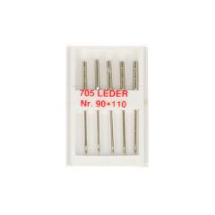Sewing machine needles leather no. 90-110 - 10pcs