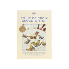 DMC Cross stitch embroidery book - 1pc