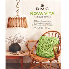 DMC Nova Vita pattern book 15 designs EN-NL-DE - 1pc