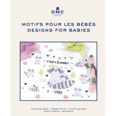 DMC Cross stitch embroidery book - 1pc