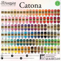 Scheepjes Catona assortment 5x50g - 109 colours - 1pc