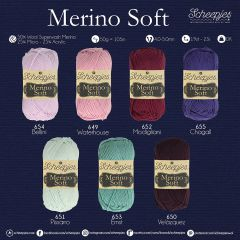 Scheepjes Merino Soft assortment 5x50g - 7 colours - 1pc