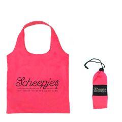 Scheepjes Fold away shopper 44x37cm pink - 20pcs