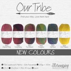 Scheepjes Our Tribe assortment 5x100g - 6 colours - 1pc
